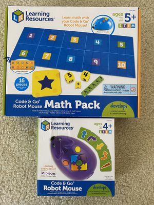 Code & Go Robot Mouse Math Pack for Sale in Brentwood, CA
