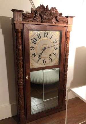 Rare Riley Whiting Antique Woodworks Clock for Sale in West Los Angeles, CA