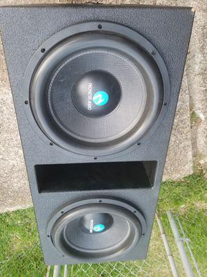 Nemesis audio 2-15s 6000k watts probox for Sale in Dallas, TX