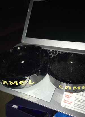 Two CAMEL Glass Ashtrays for Sale in Independence, OH