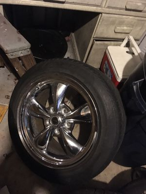 American torque thrust wheels and tires for Sale in Peoria, IL