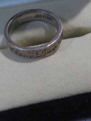 .925 silver promise ring size 6/7 TRUE LOVE WAITS RING for Sale in Port Neches, TX