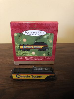 Hallmark Ornament Chessie System Tender for Sale in Centreville, VA