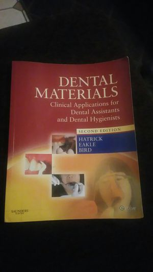 Dental Materials 2nd edition for Sale in Norwalk, CA