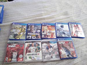 Ps4 and ps3 games for Sale in O'Fallon, MO
