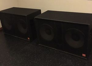 JBL SUBWOOFERS SR-4719X for Sale in Chicago, IL