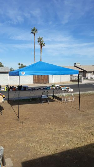Canopy 10×10 azul for Sale in Laveen Village, AZ