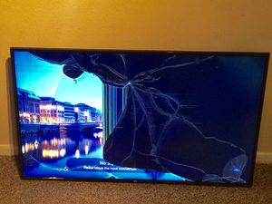 New LG 60 Inches TV 4K Smart TV 60UJ6300 - For Parts or Repair for Sale in Dallas, TX