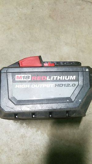 Milwaukee m18 high output battery & charger for Sale in Damascus, OR