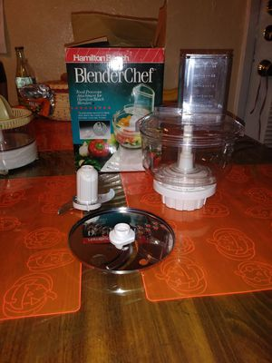 Food processor attachment for Hamilton beach blender for Sale in Lewisville, TX