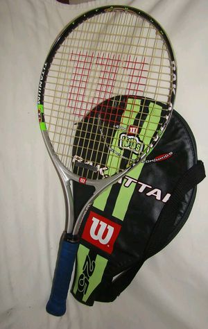 Wilson Rak Attak 25 tennis racket w/ cover for Sale in Chicago, IL