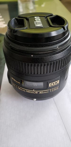 Nikon Micro Lense used for Sale in Woodbridge Township, NJ