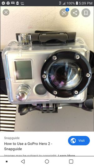 GoPro Hero 2 Outdoors Edition for Sale in Seattle, WA