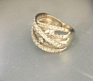 1 carat 14k white gold diamond ring for Sale in Columbus, OH