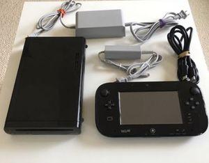Nintendo Wii U black edition for Sale in Boston, MA