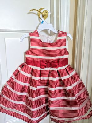 Jona Michelle Toddler Dress - Red/White - Size 2T for Sale in Auburn, WA
