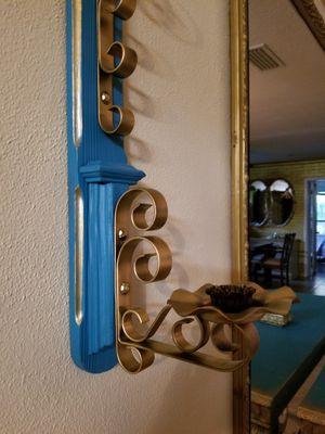 Set of 2 Vintage Wall Candle holders for Sale in Jacksonville, FL