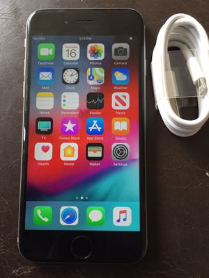 iPhone 6 16gb unlocked for Sale in Inglewood, CA