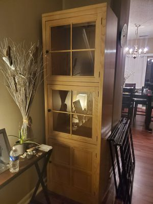 China Cabinet - light birch color for Sale in Riverdale, GA