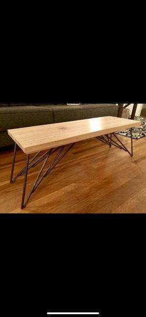 Handmade custom coffee table for Sale in Puyallup, WA