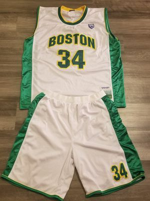 Celtics Jersey & Shorts combo for Sale in Boston, MA