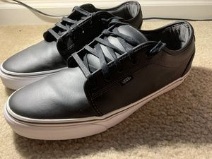 Vans Leather Shoes (Size 15 Men's) for Sale in Franklin, TN