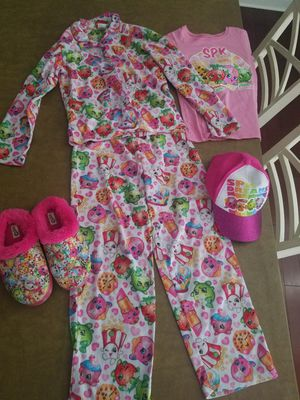 Shopkins and trolls pijamas for girls for Sale in Macungie, PA