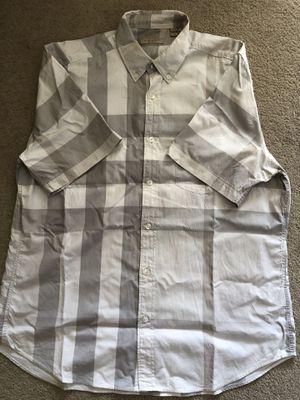 Burberry Brit men's XL nova check shirt for Sale in Portland, OR