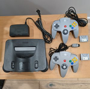 Nintendo 64 with 2 controllers for Sale in Los Angeles, CA