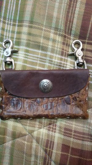 All leather clip on bag / pouch for Sale in Fort Myers, FL