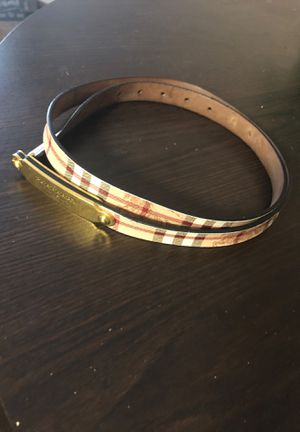 Burberry plaque leather Belt size 40 for Sale in Las Vegas, NV