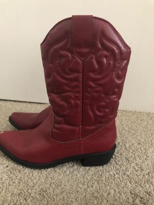 Red cowboy boots for Sale in Upland, CA