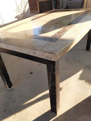 Heavy marble table for Sale in Fresno, CA