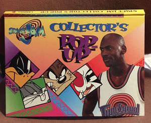 Space jam collectors pop-up tune squad Michael Jordan book for Sale in Oroville, CA