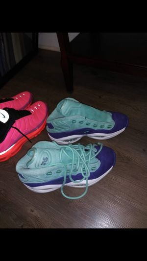 Ree bok and Nike Tn's Racer pink 9 1/2 for Sale in Brandon, FL