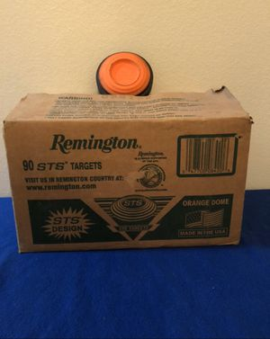 Remington 90 STS Targets orange dome for Sale in San Antonio, TX