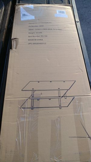 Convenience Concepts Wide TV stand for Sale in Fairfax, VA