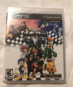Kingdom Hearts 1.5 Remix Hd Brand New Sealed for PS3 for Sale in La Puente, CA