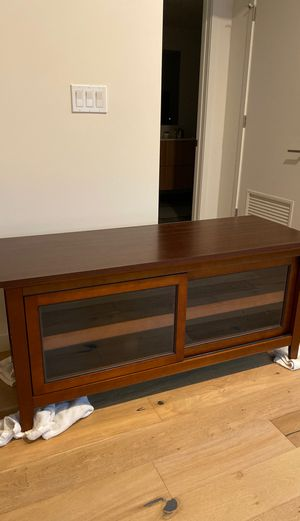 Entertainment center - brown for Sale in West Hollywood, CA