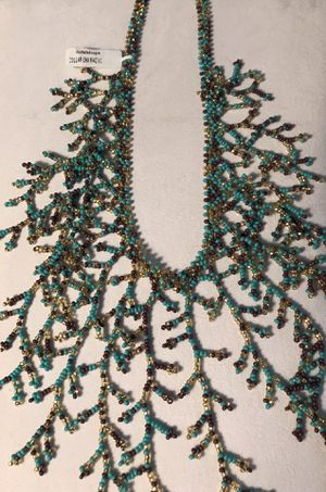 Boutique collar beaded necklace for Sale in Silver Spring, MD
