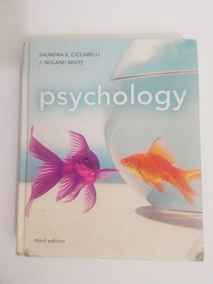 Psychology Third Edition by Sandra K. Ciccarelli & J Noland White Textbook for Sale in Mountain View, CA