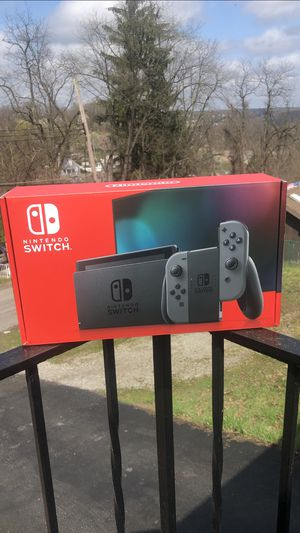 Nintendo Switch Gray Joy-Con Console for Sale in Monroeville, PA