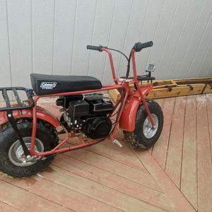 Coleman Mini Bike 196 Cc for Sale in Florissant, CO