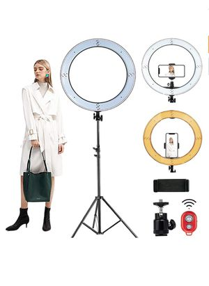 """MountDog 18"""" Ring Light with 79"""" Light Stand for Sale in Flowery Branch, GA"""