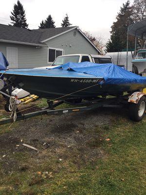 16' Sundance ski boat and trailer sale or trade for Sale in Tacoma, WA