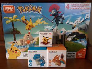 Pokemon Mega Construx + Nano Block Sets for Sale in Cheektowaga, NY