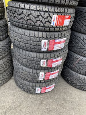 ALL TERRAIN TIRES FOR SALE LOWEST PRICES CALL OR TEXT for Sale in Stockton, CA