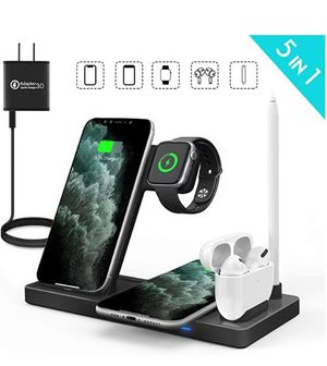 Multitasking In A Compact Space!! 5-in-1 Wireless Quick Charger for Sale in Frederick, MD