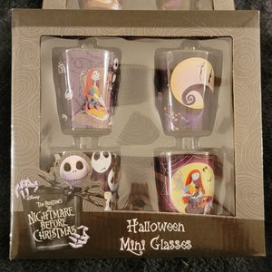 Nightmare Before Christmas Mini Glasses for Sale in Trout Valley, IL