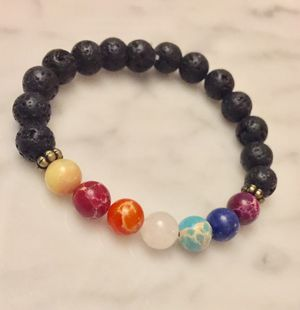 Chakra diffuser bracelet for Sale in Durham, NC